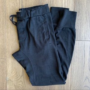 Golden by Aritzia black skinny sweatpants